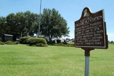 Historic Cinclare Plantation Marker image. Click for full size.