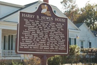 Harry B. Hewes House Marker image. Click for full size.