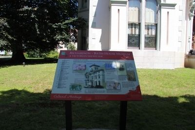 Richardson - Bates House Museum Marker image. Click for full size.