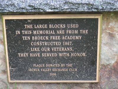 Bench Plaque image. Click for full size.
