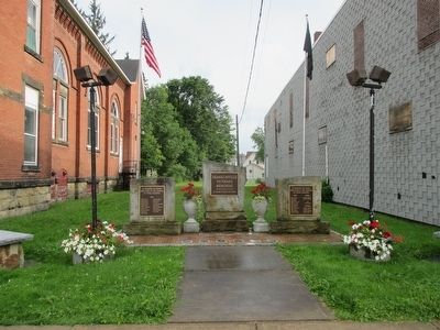 Franklinville Veterans Memorial image. Click for full size.