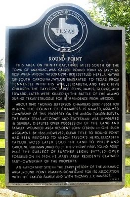 Round Point Marker image. Click for full size.