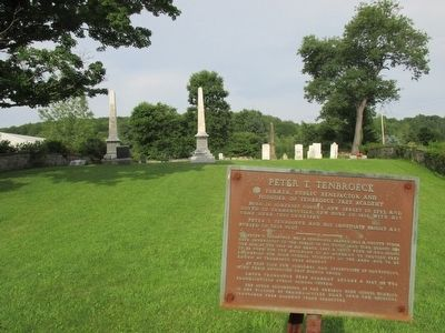 Peter T. Tenbroeck Marker & Monument image. Click for full size.