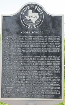 Moore School Marker image. Click for full size.