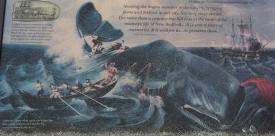 Preserving Whaling's Legacy Marker image. Click for full size.