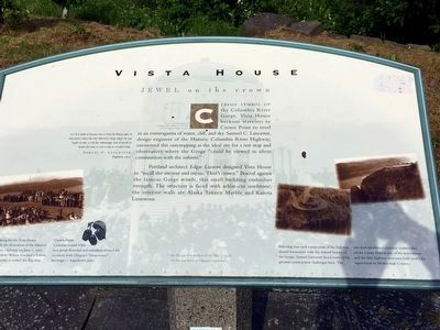 Vista House Marker image. Click for full size.