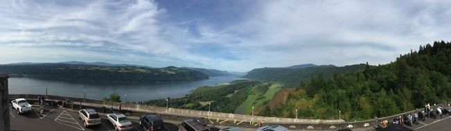 View of the Columbia River from Vista House image. Click for full size.
