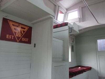 Caboose #303 Historical Marker