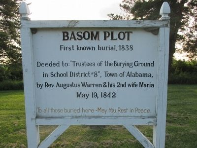 Basom Plot Marker image. Click for full size.