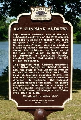 Roy Chapman Andrews Marker image. Click for full size.