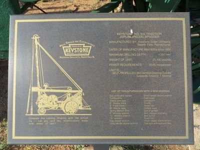 Keystone No. 5 ½ Traction Marker image. Click for full size.