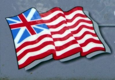 Grand Union Flag image. Click for full size.