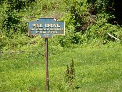 Pine Grove marker not far from Tulpehocken Path marker image. Click for full size.