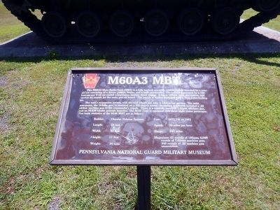M60A3 MBT Marker image. Click for full size.