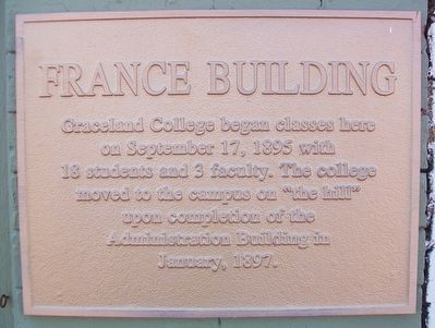 France Building Marker image. Click for full size.