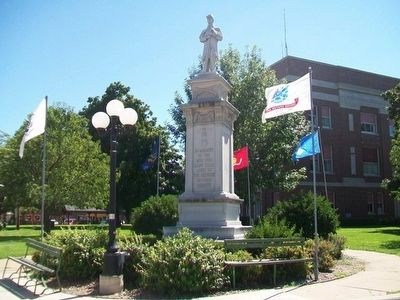 Civil War Memorial image, Touch for more information