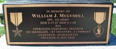 William J. Mulvihill Marker image. Click for full size.