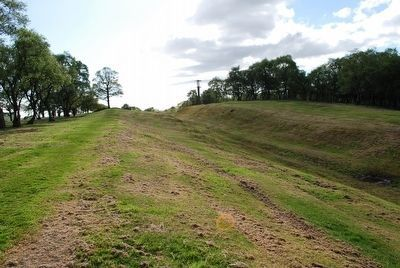 The Antonine Wall at Rough Castle Marker #2 image. Click for full size.