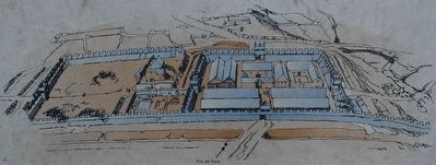 The Roman Fort Illustration image. Click for full size.