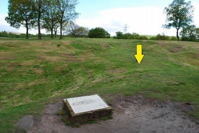 The Roman Fort Marker image. Click for full size.