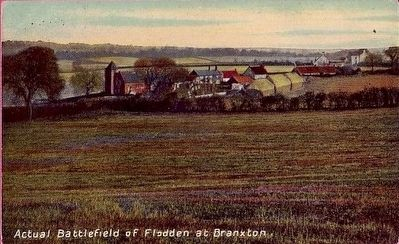 <i>Actual Battlefield of Flodden at Branxton</i> image. Click for full size.