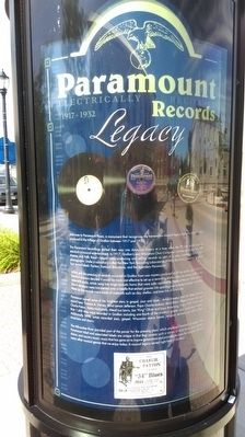 Paramount Records Legacy Marker image. Click for full size.