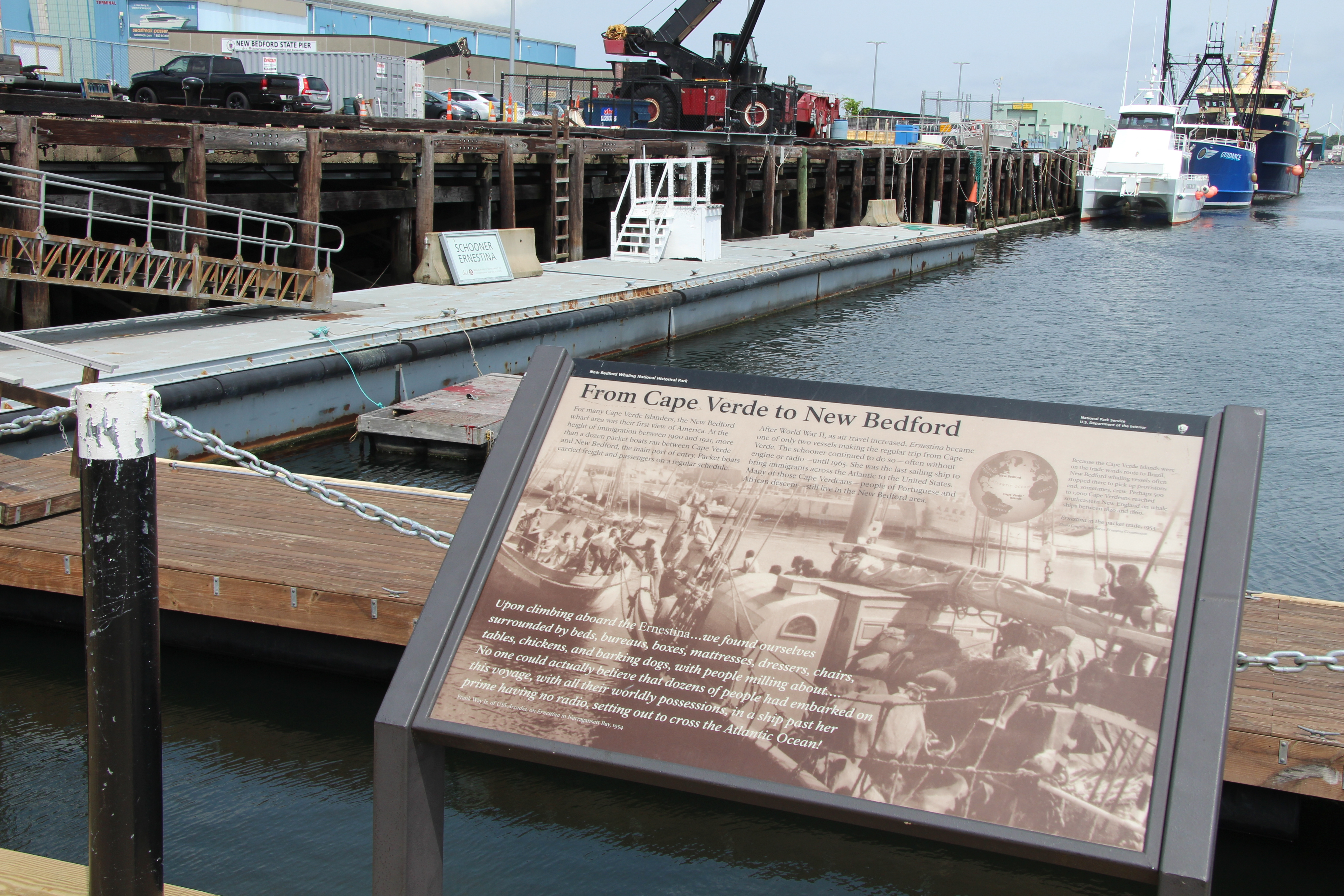 Cape Verde to New Bedford Marker