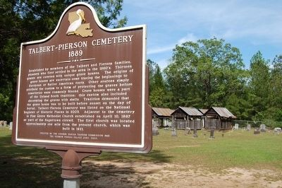 Talbert-Pierson Cemetery and Marker image. Click for full size.