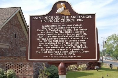 St. Michael The Archangel Catholic Church 1913 Marker image. Click for full size.