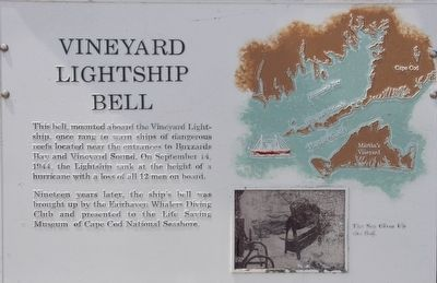 Lost Lightship Sailors Memorial Marker image. Click for full size.