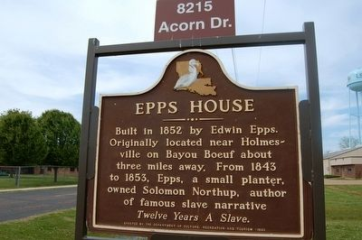 Epps House Marker image. Click for full size.