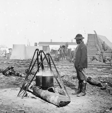 Union Army Cook image. Click for full size.