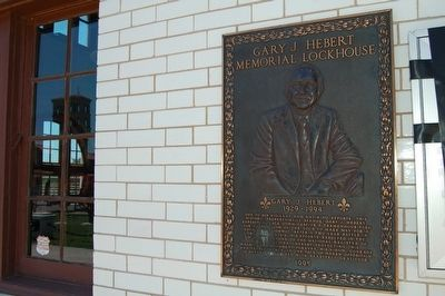 Gary J. Hebert Memorial Lockhouse Marker image. Click for full size.