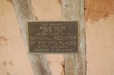 Roque House Marker image. Click for full size.