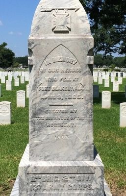 Battle of Fort Blakely Monument Marker image. Click for full size.