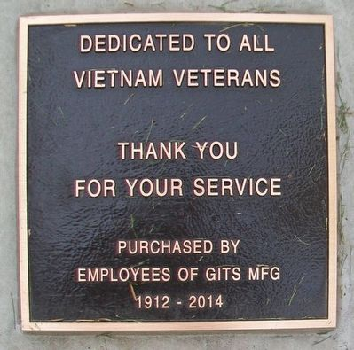 Vietnam Veterans Memorial Marker image. Click for full size.