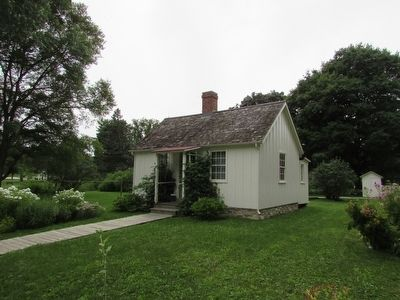 House Where Herbert Hoover was Born image. Click for full size.