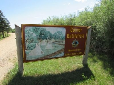 Connor Battlefield State Park image. Click for full size.