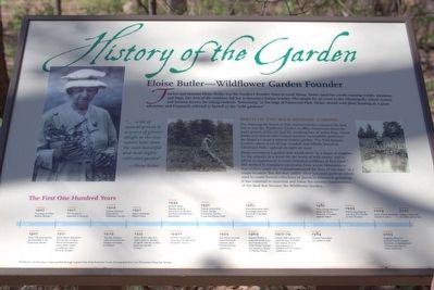 History of the Garden Marker image. Click for full size.