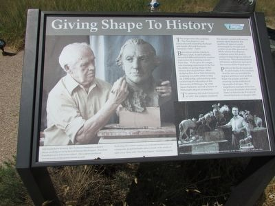 Giving Shape to History	 Marker image. Click for full size.