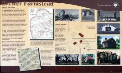 Brewer Farmstead Marker image. Click for full size.