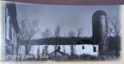 Dairy Barn & Silo image. Click for full size.