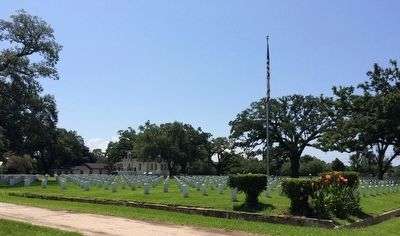 Mobile National Cemetery image. Click for full size.