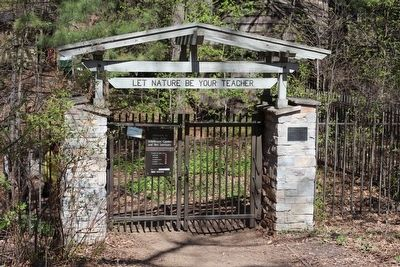 Entrance to the Eloise Butler Wildflower Garden and Bird Sanctuary, Established 1907 image. Click for full size.