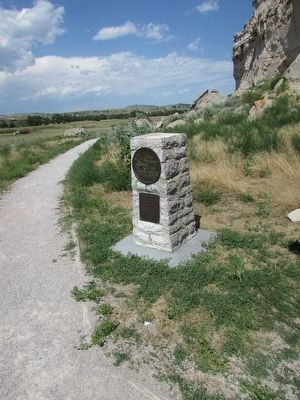 Oregon Trail Memorial image. Click for full size.