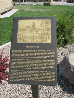Mexican Hill Marker image. Click for full size.