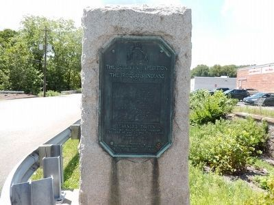 Sullivan's March Marker is next to The Sullivan Expedition against The Iroquois Indians 1779 image. Click for full size.