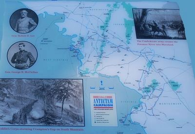 1862 Antietam Campaign Marker image, Touch for more information