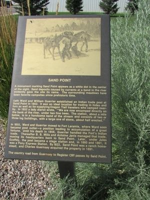Sand Point Marker image. Click for full size.