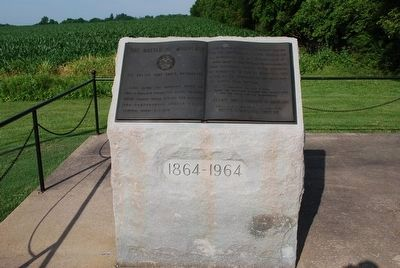 Battle of Monocacy Marker image. Click for full size.